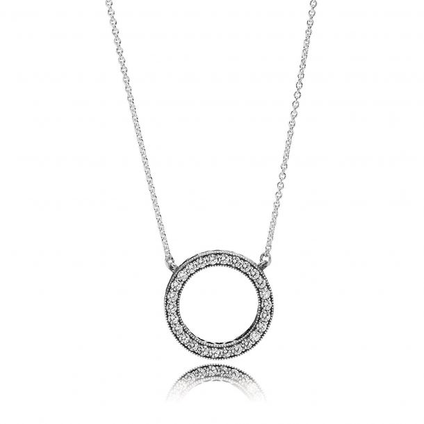 pandora initial necklace