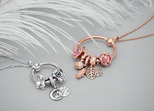 pandora name necklace