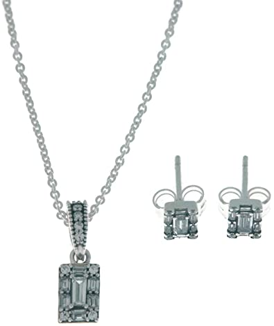 pandora necklace and earring sets