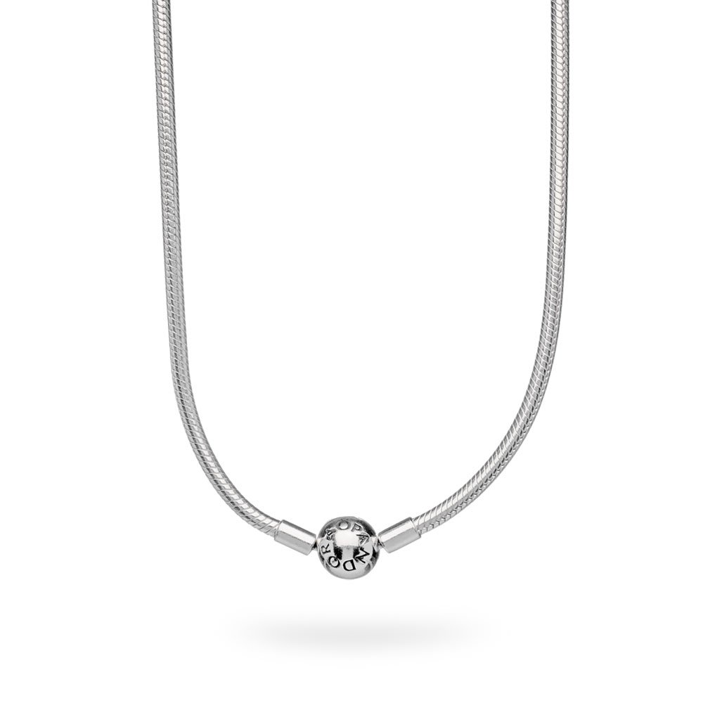 pandora necklace with initials